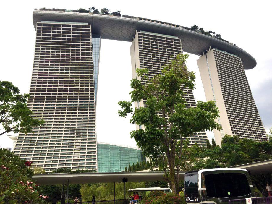 高級綜合度假設施「濱海灣金沙(Marina Bay Sands)」