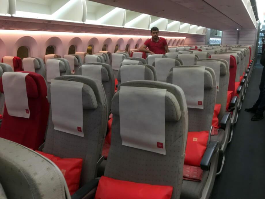 ロイヤルヨルダン航空を利用しました